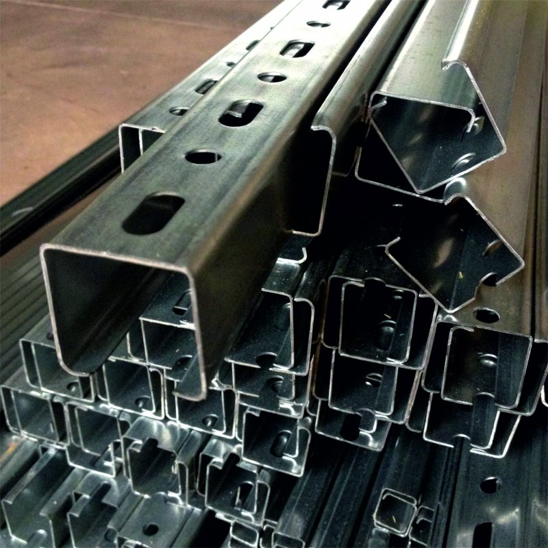Купить Профиль стальной С-образный 80х50х24х4 мм ст. 55 ГОСТ 11474-76 гнутый