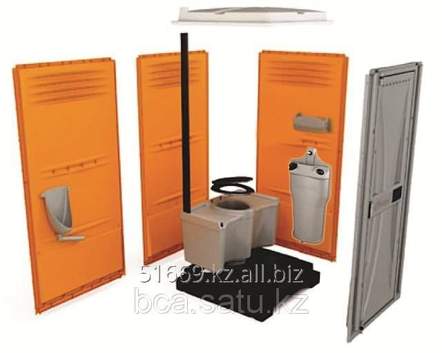 Мобильная туалетная кабина класса VIP