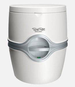 Portable dry closet of Porta Potti Excellence Electric