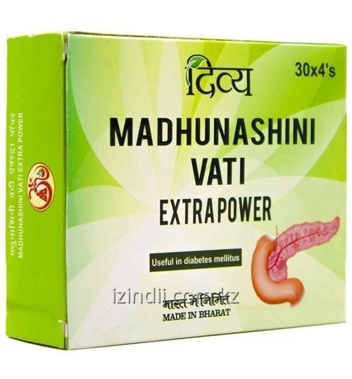 Мадхунашини Вати, 120 таб, Divya, фито средство для лечения диабета