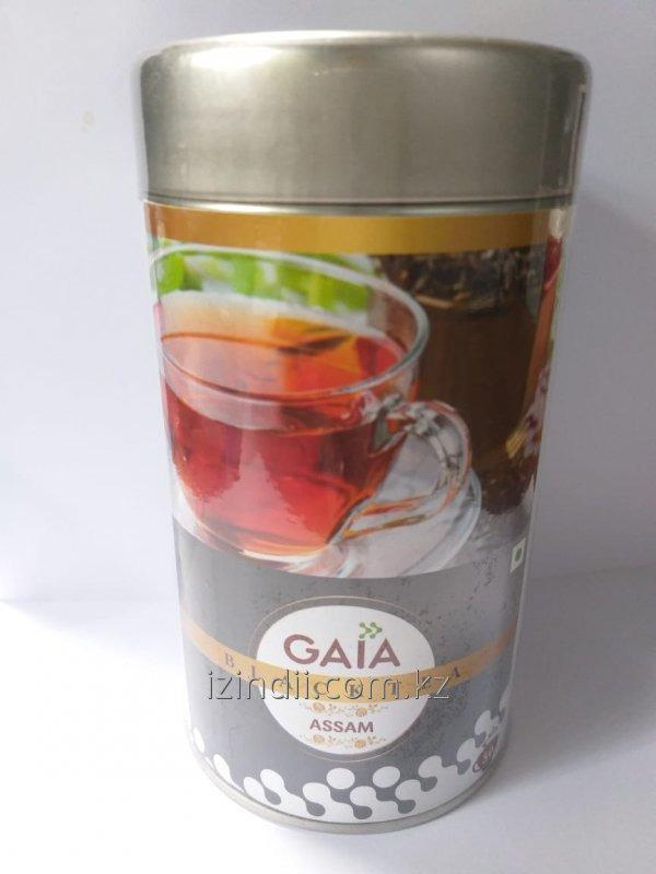 Чай Ассам крупно листовой, 100 гр, Gaia black tea Assam