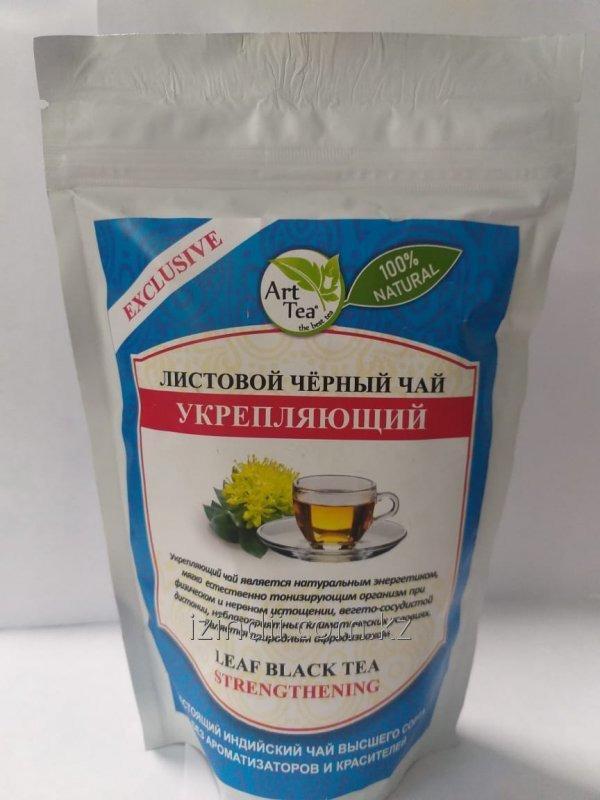 Листовой черный чай, укрепляющий, 100 гр, Neha