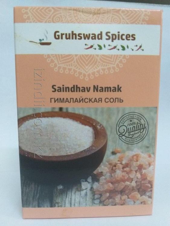 Гималйская соль, 100 гр, Gruhswad Spices , Saindhav Namak