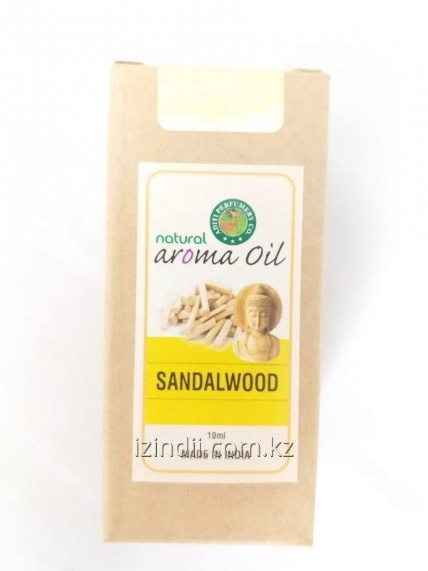 Натуральное эфирное масло с ароматом сандалового дерева, 10 мл, Индия