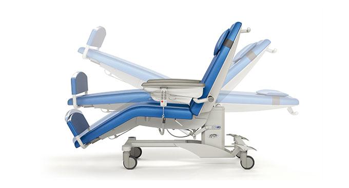 Диализный донорский стол-кресло