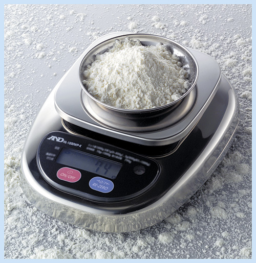 Buy HL/WP-3000 scales (3000 g of X 1 g; external calibration), AND