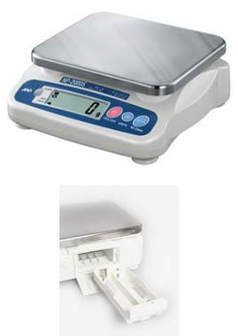 Купить Весы NP-2000S (2000г Х 1г; ПЛАТФ. 230Х190мм) с адаптером, AND