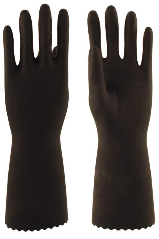 Купить Перчатки КЩС тип 1 L-U-03 (натур. каучук), размер М