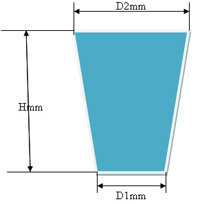 Купить Пробка силиконовая № 22 (конусная без канала, D=22/30мм, H= 25мм)