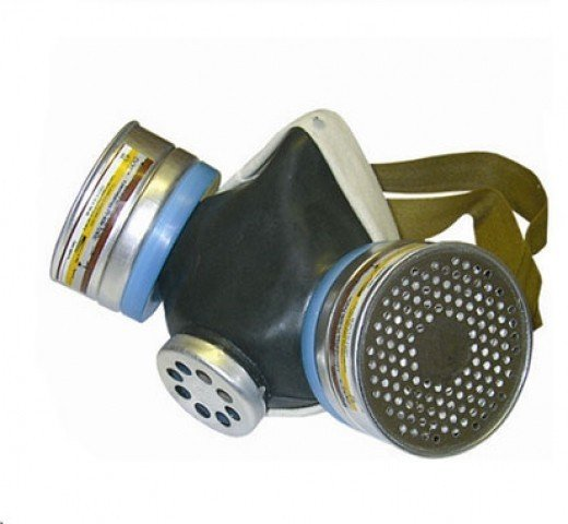 Buy Respirator RU-60M the A1P1 brand (protection against org.par, a half mask with replaceable filters)