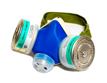 Buy Respirator RU-60M the B1P1 brand (protection from neorg. vapors and gases; a half mask with replaceable filters)