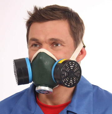 Buy Respirator RU-60M E1P1 brand (protection against sour vapors and gases; a half mask with replaceable filters) SN. With SM B1P1 Ave.