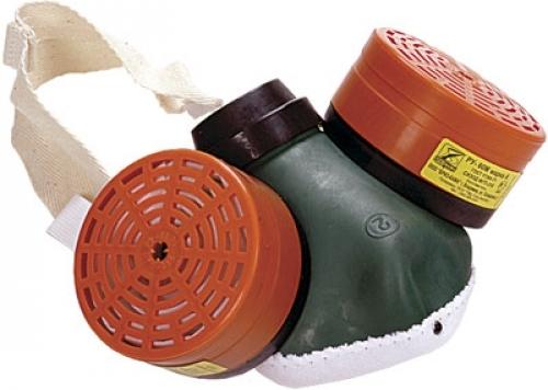 Купить Респиратор РУ-60М марка К1Р1 (защита от аммиака; полумаска со сменными фильтрами)