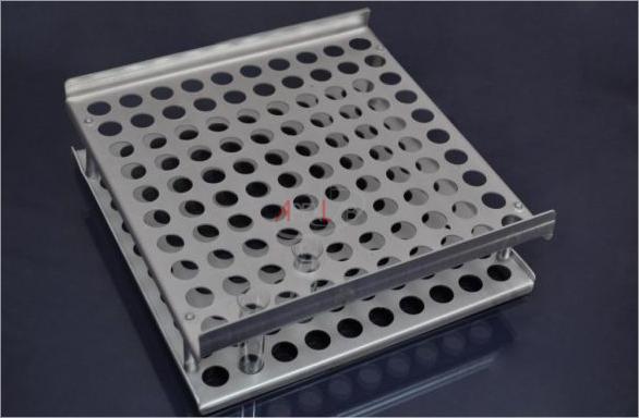 Buy Support aluminum on 100 nests for Florinsky's test tubes