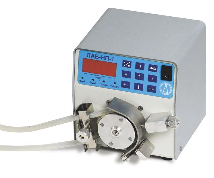 Купить Насос-дозатор перистальтический LOIP LS-301 (ЛАБ-НП-1-20М) (расход 0,06...25л/час; микропроцессорное управление)