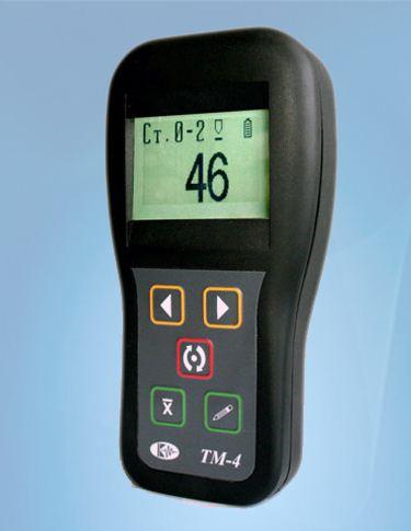 Купить Толщиномер вихретоковый Тм-4 для покрытий 0-2000 мкм на магнитном и немагнитном основании