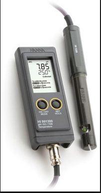 Купить Прибор мультипараметровый HI 991300 (рн, электропроводность), hanna instruments
