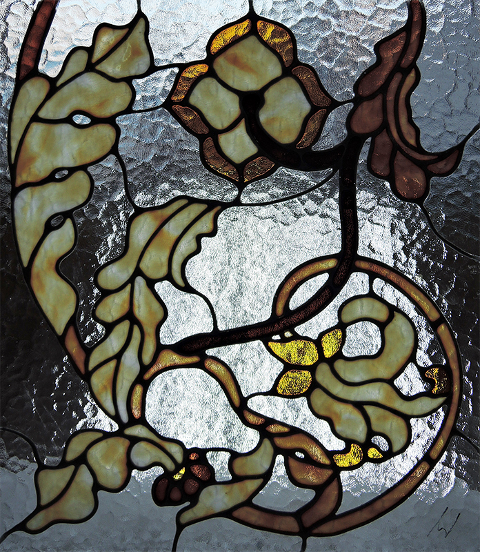 Buy Stained-glass windows are classical, the mosaic combined.