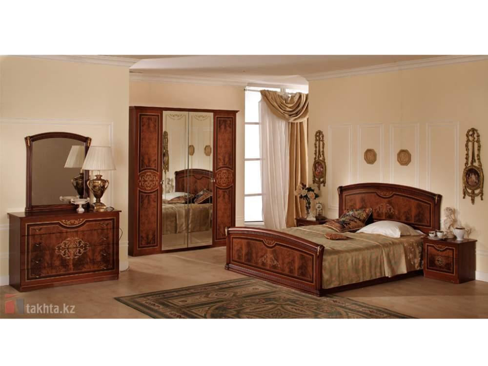 спальный гарнитур верона коллекция италия иж мебель алматы тоо