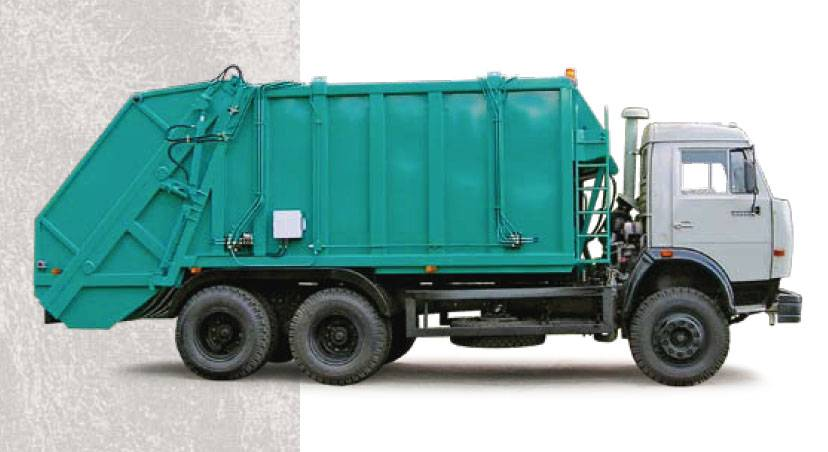 Buy The garbage truck with back loading of KO-453