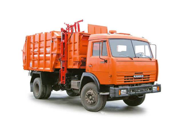 Buy The garbage truck with side loading of MKM-4303 (KAMAZ-43253 chassis 4х2)