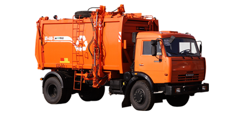 Buy The garbage truck with side loading of KO-440-7 (KAMAZ-43253 chassis 4х2)
