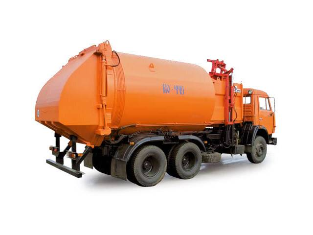 Buy The garbage truck with side loading of KO-449 (KAMAZ-53215 chassis 6х4)