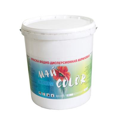 Краска акриловая Водоэмульсионная ЭКОНОМ 15 кг