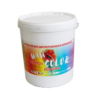Краска акриловая Водоэмульсионная УНИВЕРСАЛ протирающаяся 15 кг
