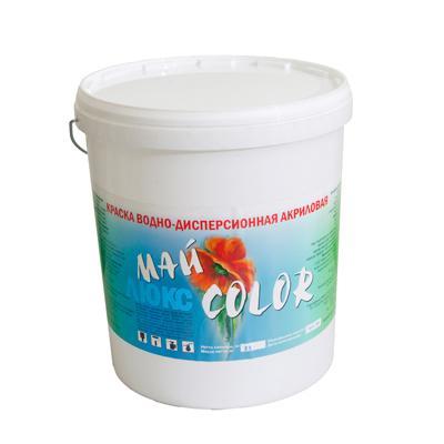 Краска акриловая водоэмульсионная ЛЮКС моющаяся 25 кг