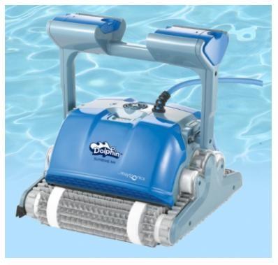 Автоматический пылесос для бассейна Dolphin Supreme M4 (Израиль)
