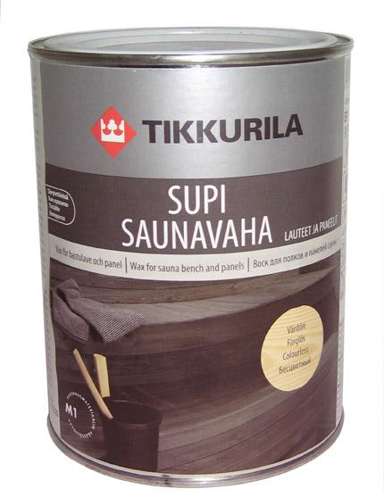 Купить Защитный воск для бань и саун Супи Саунаваха, масло для пола