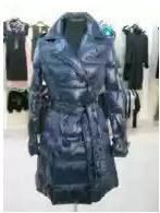 Купить Пальто-пуховик, цвет – синий