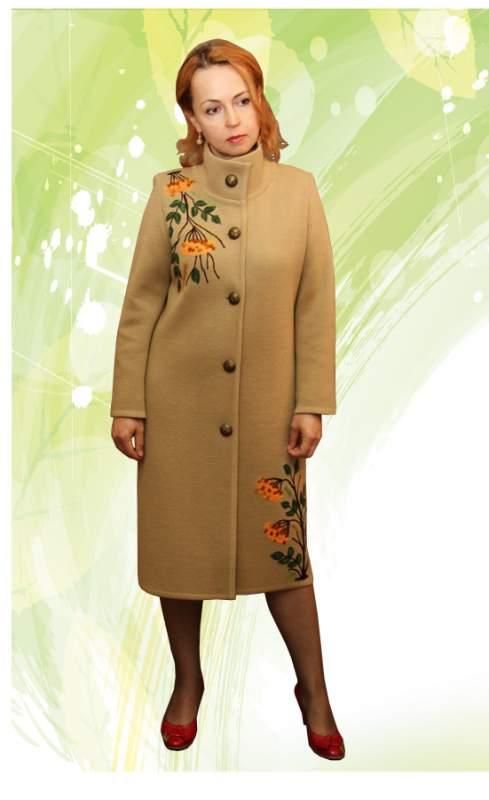 вязаное пальто спелая рябина купить в павлодаре