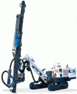 Техника сваебойная и буровая, Буровая техника HCR 900 ESII