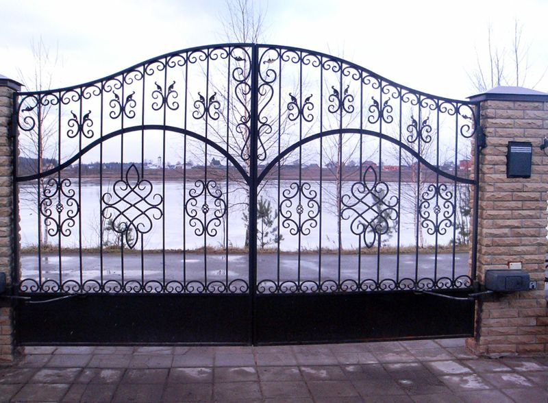 Кованные ворота