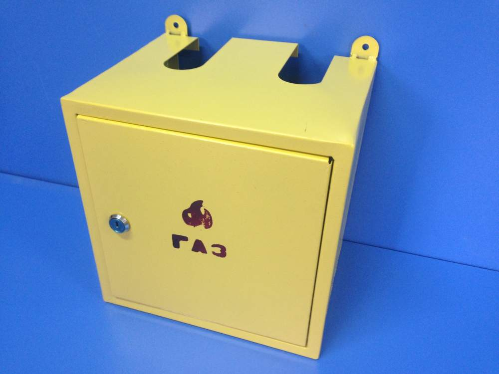 Ящик для газового счетчика своими руками
