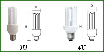 Купить Энергосберегающие лампы, Тип лампы ДУГОВЫЕ 3U, 4U
