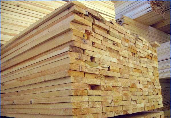 Bord, planker, lister, drann av harde arter av tre in Otegen Batyr ...