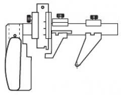 """ЖД шаблоны """"ЧИЗ"""" для контроля параметров тележки грузового вагоны"""