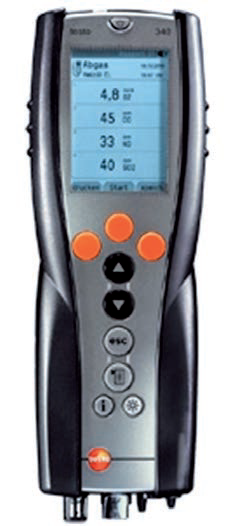 Buy Portable analyzer of Testo 340 combustion gases