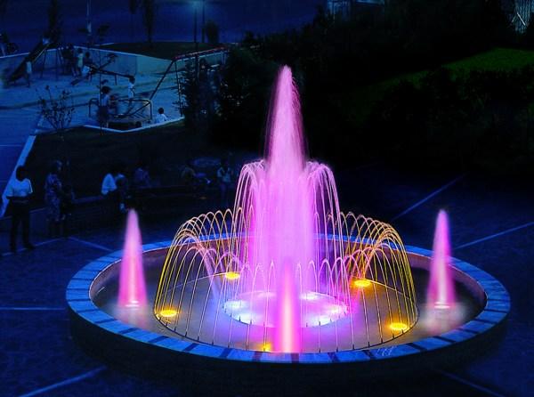 Светодиодные фонтаны своими руками