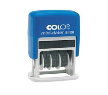 Датеры  Оснастка для штампов Mini-dater S120