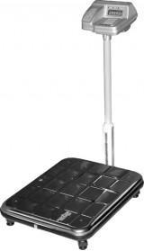 Весы электронные с увеличенной платформой ВЭУ-150 со стойкой