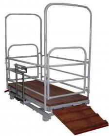 Весы механические для взвешивания скота ВТ 8908