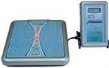 Медицинские весы, Весы ВМЭН-150 с автономным питанием и выносным пультом управления на гибкой связи