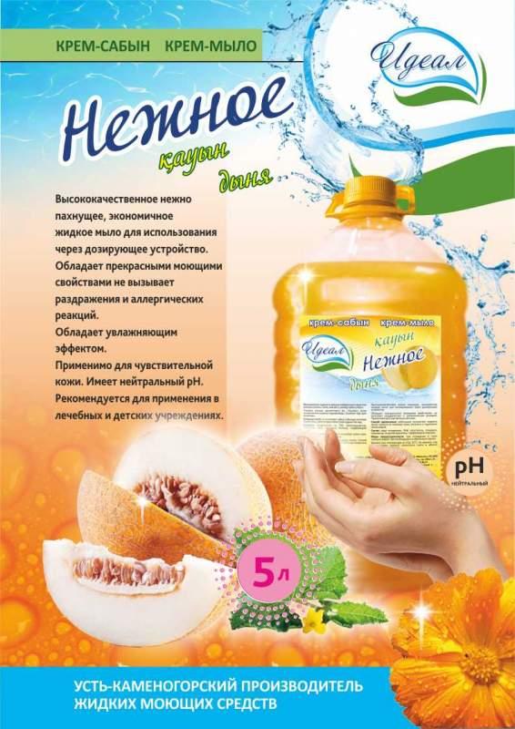 Buy Cream-soap Gentle Melon of 5 l Ideal trademark