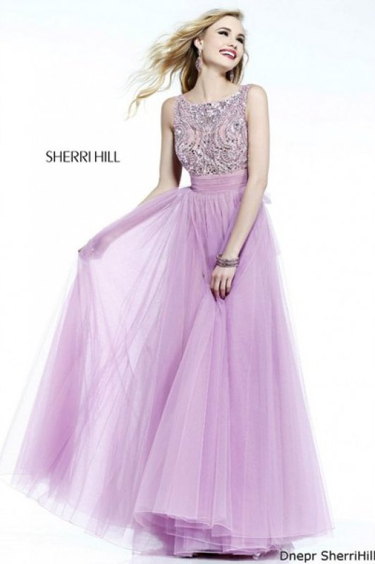 Sherri hill платье розовое