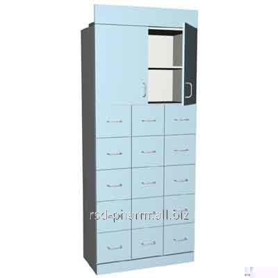 Шкаф офисный/аптечный артикул ШД-011