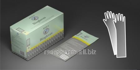 Перчатки акушерские латекс хир стер размер L Biogloves®